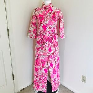Vintage Quilted Pajama Set